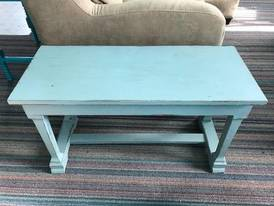 Blue Bench of 12-13-17 West Household & Collectibles Auction