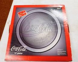 Coca-Cola Platter of 12-13-17 West Household & Collectibles Auction