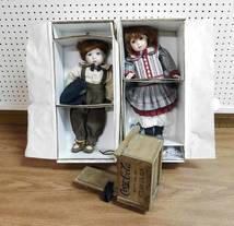 Franklin Heirloom Dolls & Coca-Cola Sled of 12-13-17 West Household & Collectibles Auction