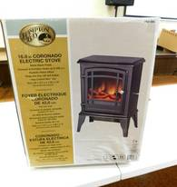 Hampton Bay Electric Stove of 12-13-17 West Household & Collectibles Auction