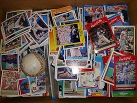 Several Thousands Baseball Cards of 12-16-17 Flaskerud Household, Collectible & New Overstock Items, Including Flooring.
