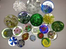 Globe Glass Paper Weights (Dynasty Gallery) of 12-16-17 Flaskerud Household, Collectible & New Overstock Items, Including Flooring.