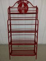 Coca Cola Shelf of 12-16-17 Flaskerud Household, Collectible & New Overstock Items, Including Flooring.