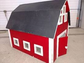 Toy Barn of 12-16-17 Flaskerud Household, Collectible & New Overstock Items, Including Flooring.