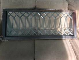 Lead glass window of 12-13-17 West Household & Collectibles Auction