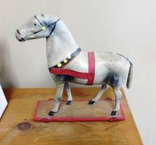Paper Mache Toy Horse of 12-13-17 West Household & Collectibles Auction