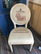 Recovered chair of 12-13-17 West Household & Collectibles Auction