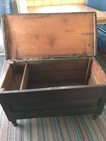 Trunk  inside of 12-13-17 West Household & Collectibles Auction