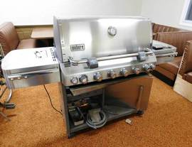 Weber LP Grill of 12-13-17 West Household & Collectibles Auction