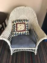 Wicker Chair of 12-13-17 West Household & Collectibles Auction