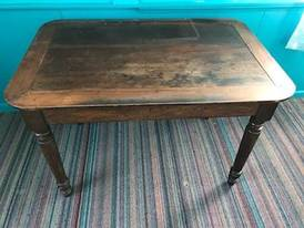 Wooden Kitchen table of 12-13-17 West Household & Collectibles Auction