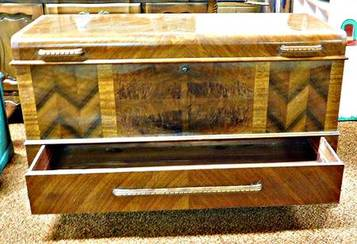 cedar chest with drawer of 1206 Gilbert Street