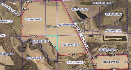 Parcels marked in Red outline 4Sale of Bluffton Road